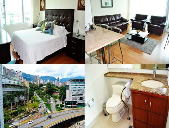 Alquiler Apartamentos Amoblados Código 3111