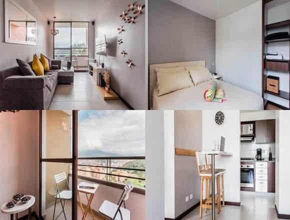 Alquiler Apartamentos Amoblados  Código 3358