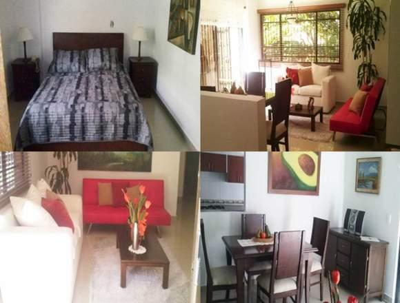 Alquiler Apartamentos Amoblados Código 3208