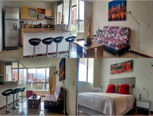Alquiler Apartamentos Amoblados  Código 3306