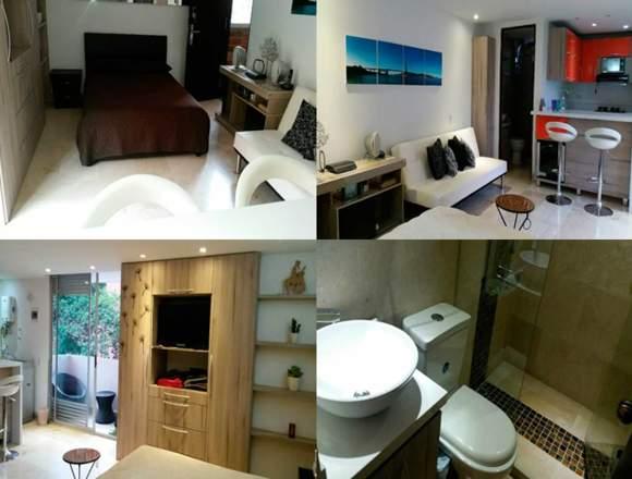 Alquiler Apartamentos Amoblados  Código 3157
