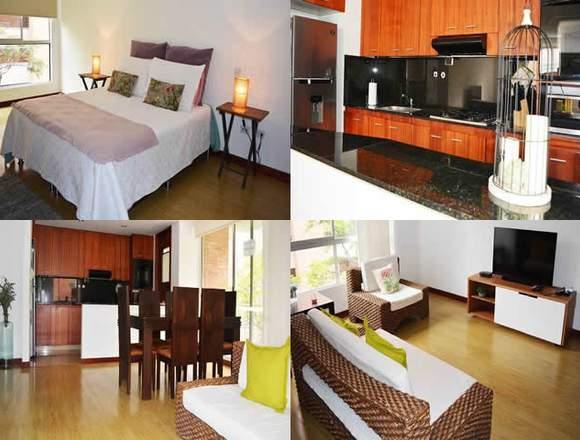 Alquiler Apartamentos Amoblados Código 3381