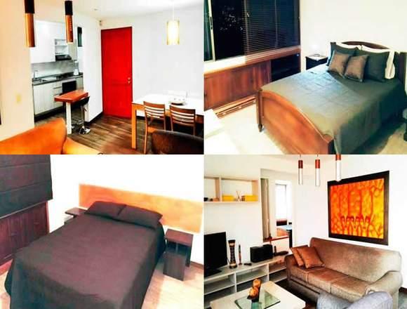Alquiler Apartamentos Amoblados  Código 3397