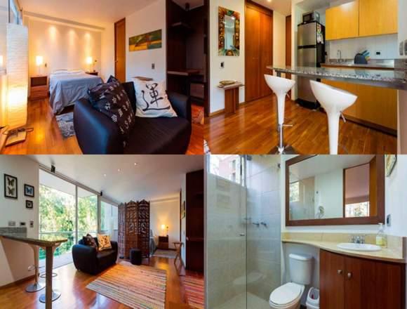 Alquiler Apartamentos Amoblados Código 3189