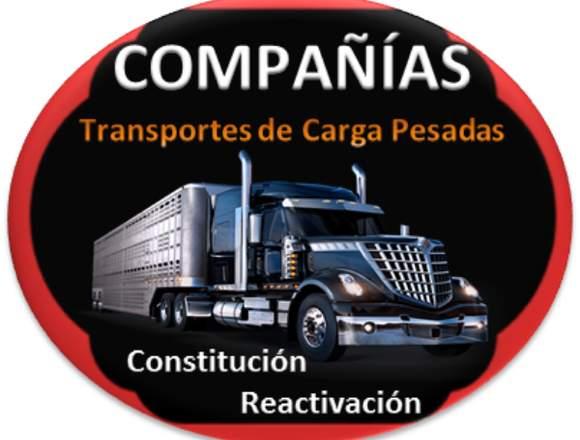 Constitución y Reactivación de Compañías