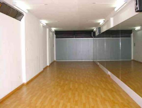 Alquiler de sala para danza, ensayos, baile salon