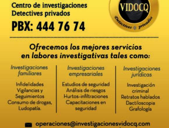 Investigadores y Detectives Privados Medellin