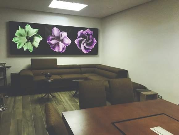 Exclusivas y únicas oficinas en renta