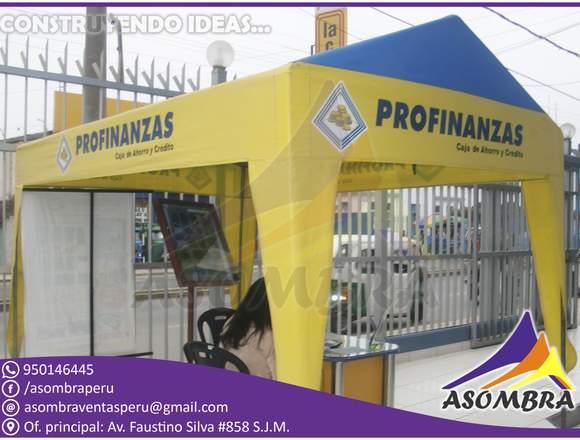 TOLDO DESARMABLE MODELO CASITA / ASOMBRA PERU
