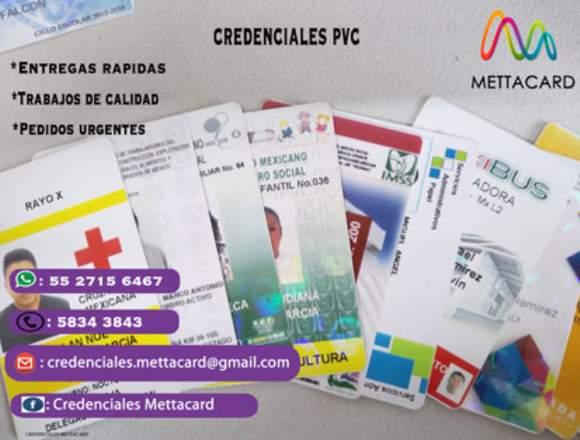 CREDENCIALES PVC ECATEPEC