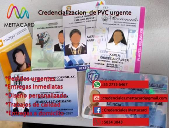 CREDENCIALES PVC ESCOLARES
