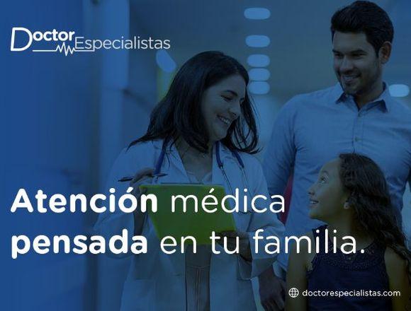 Atención médica profesional y de calidad.