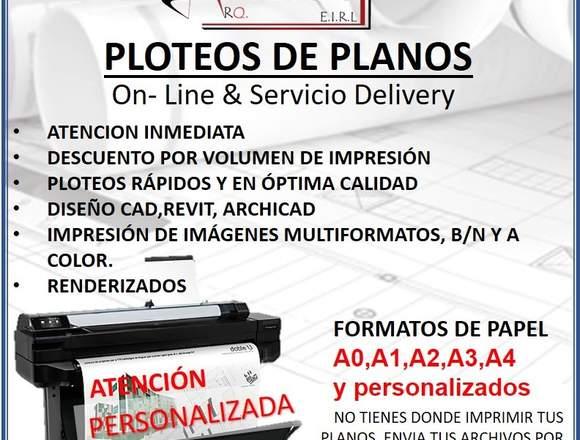 """PLOTEOS DE PLANOS ON-LINE / """"ARQ. DARISH"""""""