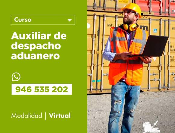 AUXILIAR DE DESPACHO ADUANERO - VIRTUAL
