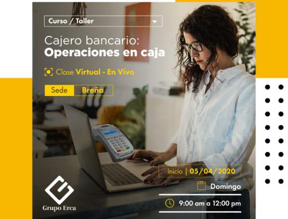 CAJERO BANCARIO : OPERACIONES EN CAJA