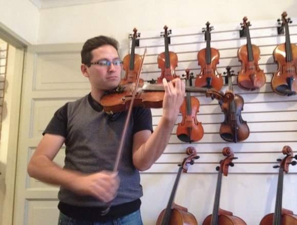 clases de violín y piano