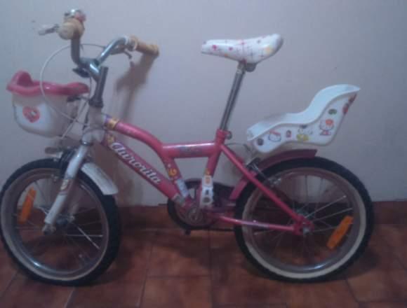 Bicicleta de niña Aurorita rodado 16