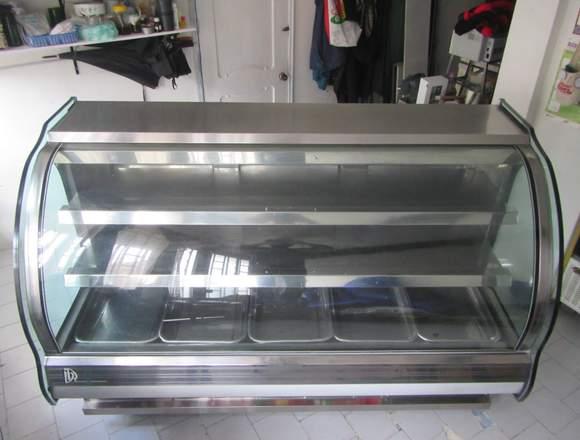 Góndola  de refrigeración y congelación