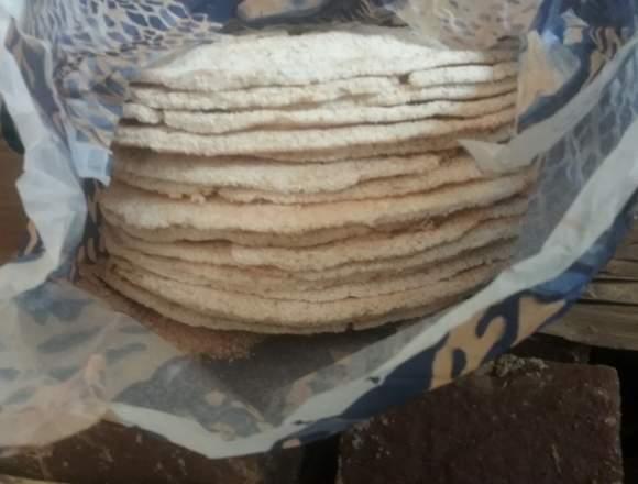 Casabe 100% oriental. 20 tortas