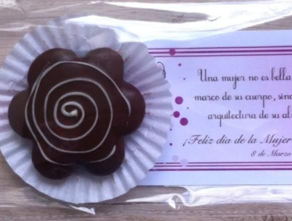 Chocolates/galletas tipo alfajor para toda ocasión