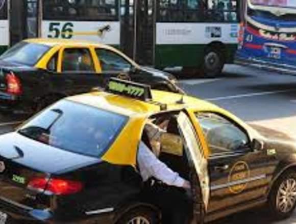 servicio de taxi solo activo