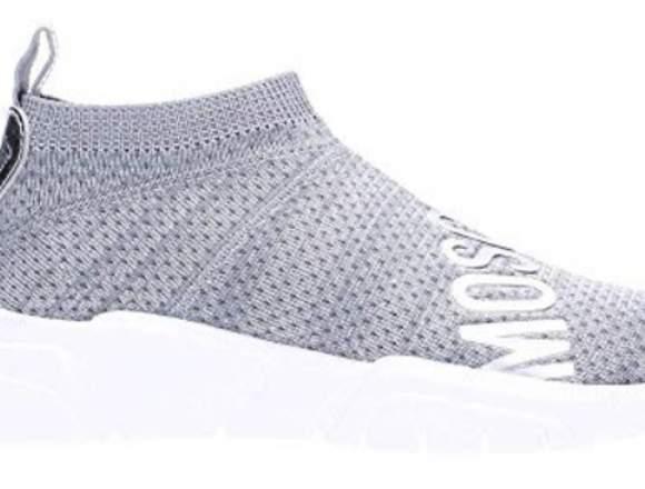 Love MOSCHINO Sneaker Argento