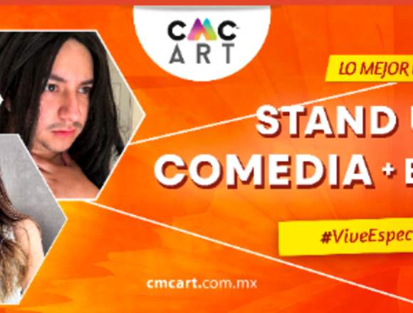 COMEDIANTES Y STAND UP