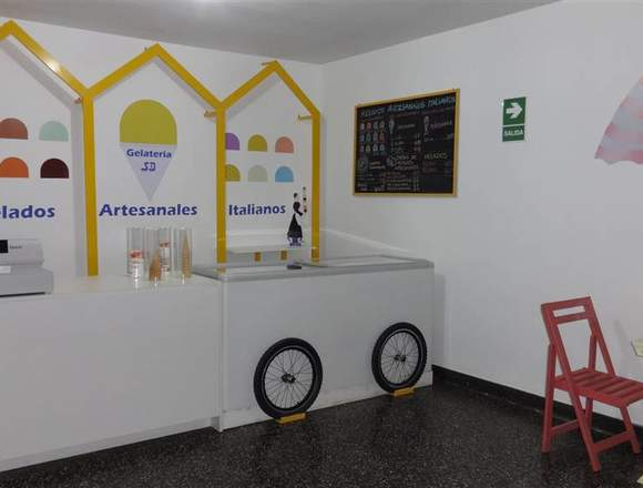 Vendo negocio de Heladeria Artesanal Italiana