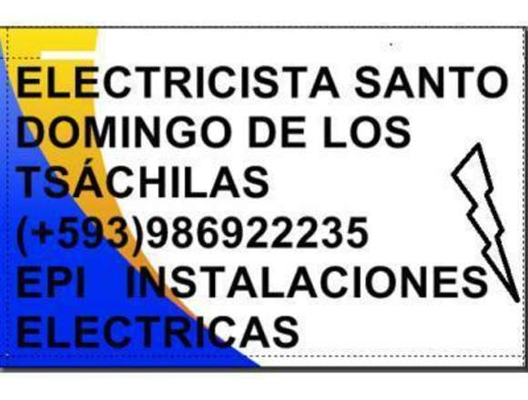 ELECTRICISTA STO DOMINGO+593/993268288