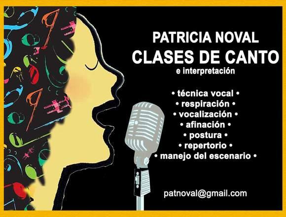 CLASES DE CANTO EN CABALLITO