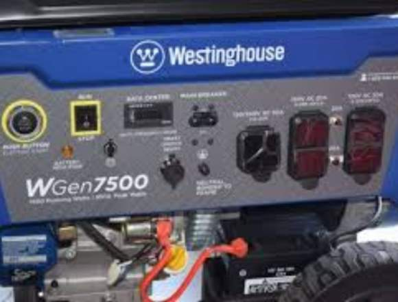 PLANTA ELÉCTRICA WESTINGHOUSE WG7500 9.5 KVA