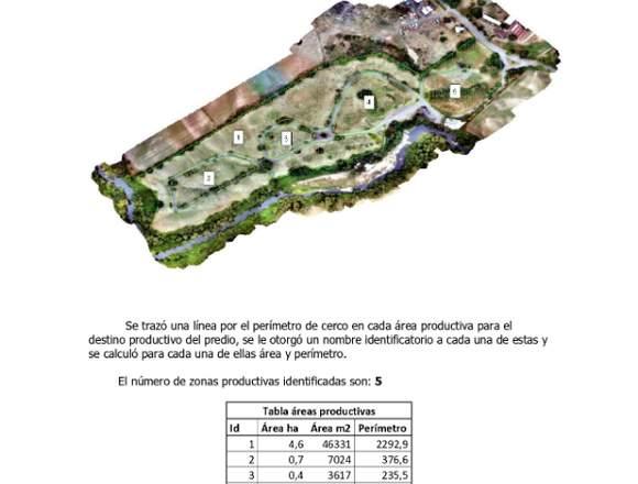 Geomensura con drones