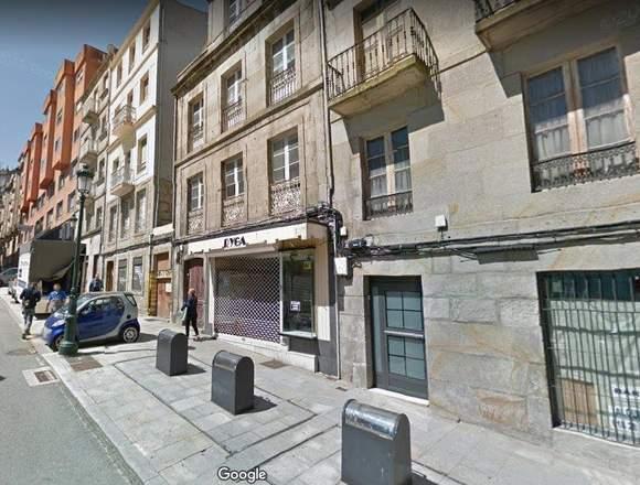 Edifi cio para reformar en el centro de Vigo