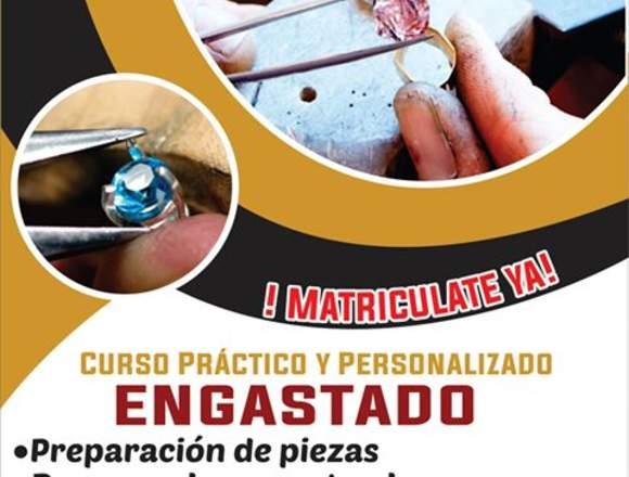 CURSO DE ENGASTADO HORARIO PERSONALIZADO