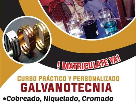 CURSO DE GALVANOTECNIA