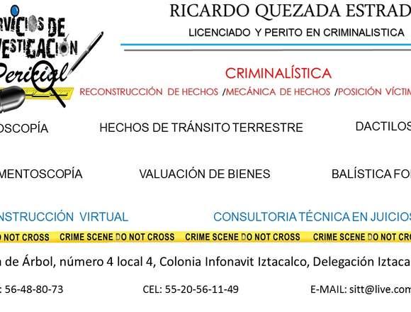 Servicios de Investigacion Pericial