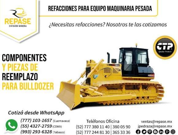 COMPONENTES Y PIEZAS DE REEMPLAZO PARA BULLDOZER