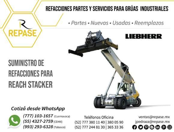 PARTES PARA REACH STACKER LEIBHERR