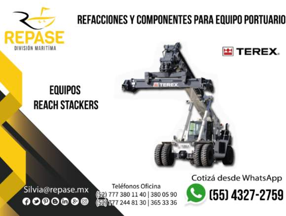EQUIPOS REACH STACKERS