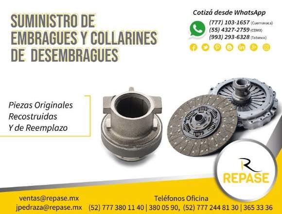 SUMINISTRO DE EMBARGUES Y COLLARINES