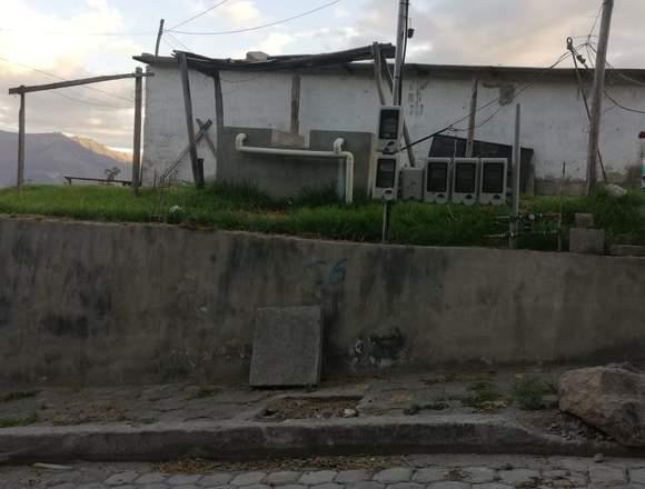 SE VENDE TERRENO EN TANDA DE CUMBAYA
