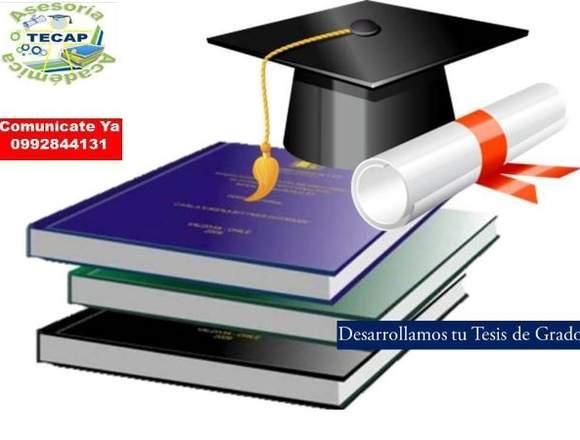 TESIS. DESARROLLAMOS TU TESIS 0992844131