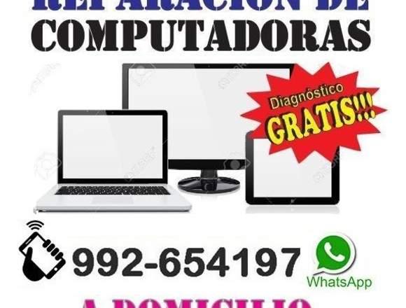 TECNICO DE COMPUTADORAS FORMATEO A DOMICILIO