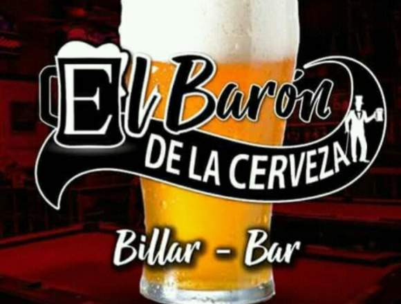 Busco chicas para meseras en bar billar.