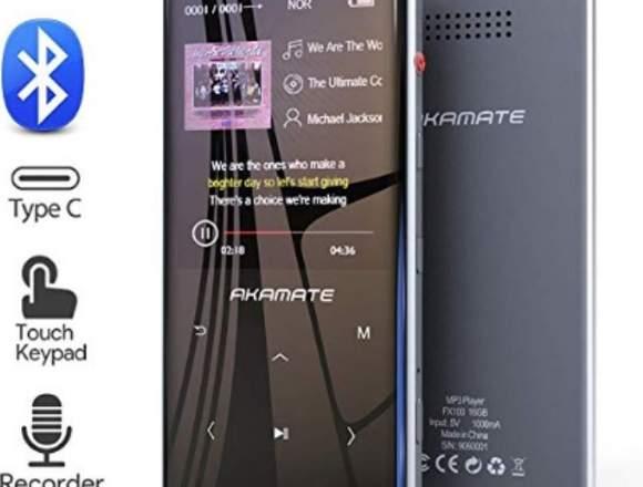 Reproductor de MP3 de 16GB con Bluetooth 4.2