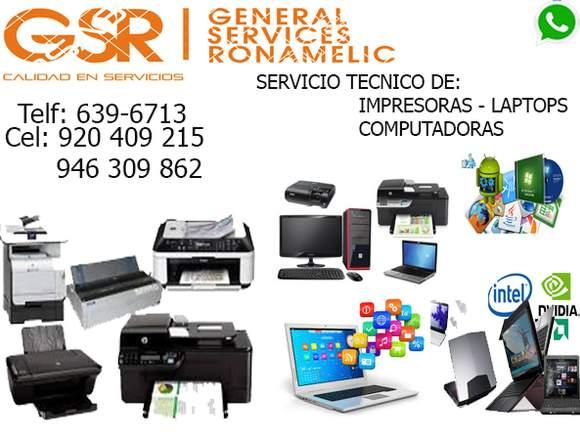 SERVICIO TÉCNICO DE PC A DOMICLIO993691682
