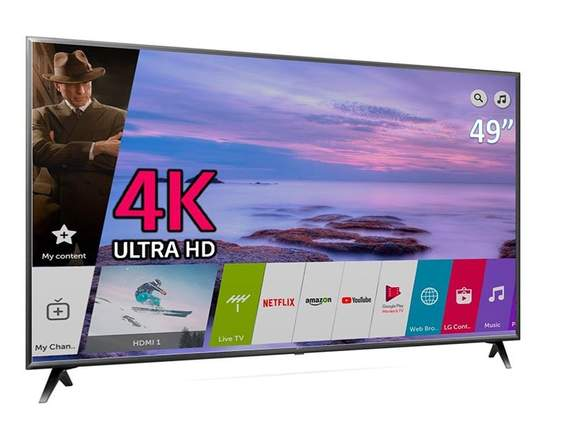 LG 49 PULGADAS UHD 4K SMART TV