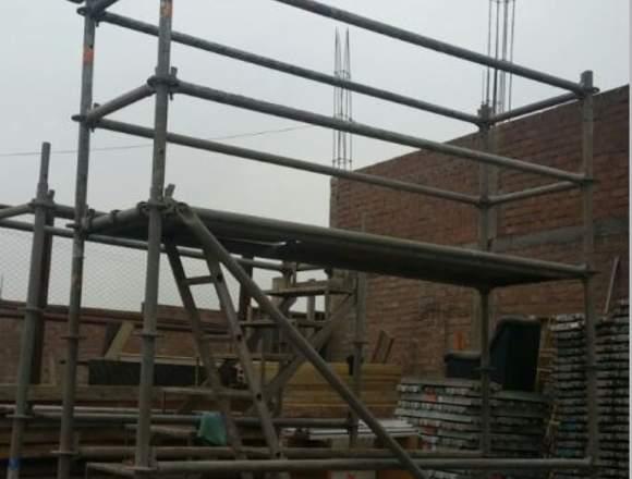 Alquiler/venta de andamios y escaleras de acceso