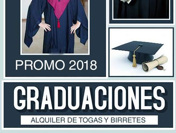 Organización de ceremonias de graduaciones y mas