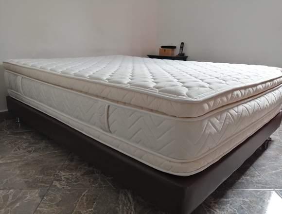 Colchón Ref.Ajuste Perfecto140*190+Basecama Spring